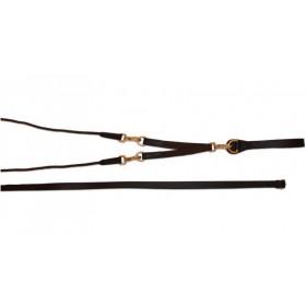 Rênes allemandes cuir/corde